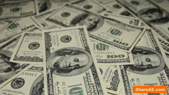 Videohive A Lot of Money - Stock Footage