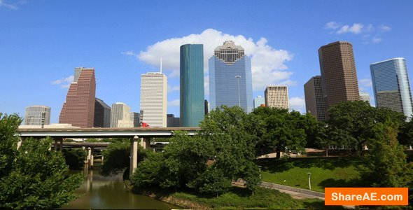 Videohive Houston Time Lapse - Stock Footage