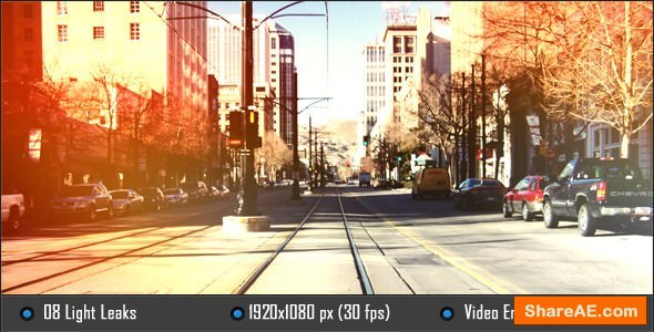 Videohive Light Leaks 5149045 - Motion Graphic