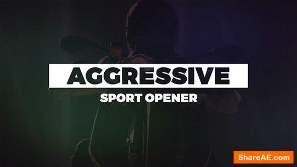Videohive Aggressive Sport Opener