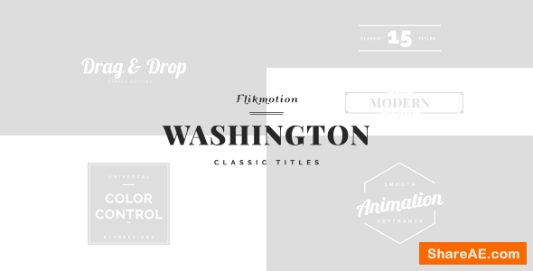 Videohive Classic Minimal Titles