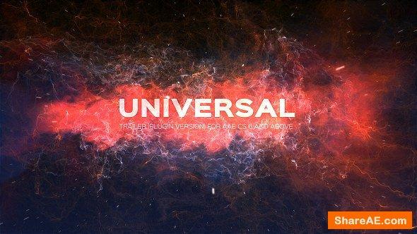 Videohive Universal Trailer