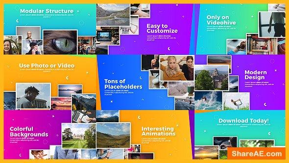 Videohive Uplifting Modern Slideshow