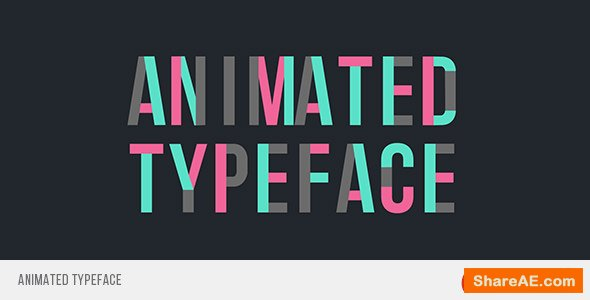 Videohive Animated Typeface