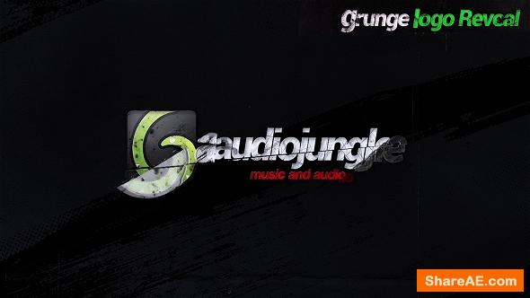 Videohive Grunge Logo Reveal