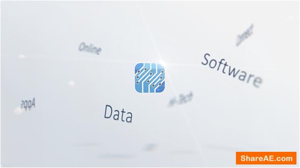 Videohive Corporate Keywords Logo