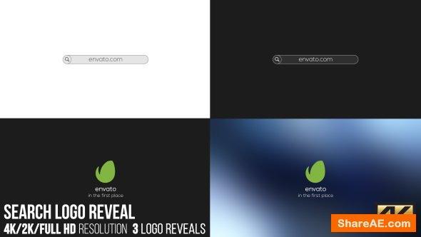 Videohive Search Logo Reveal 16757728