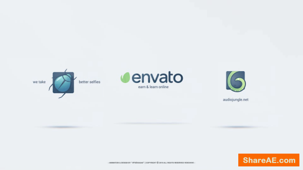 Videohive Clean Corporate Logo