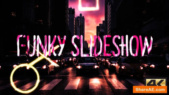 Videohive Funky Slideshow