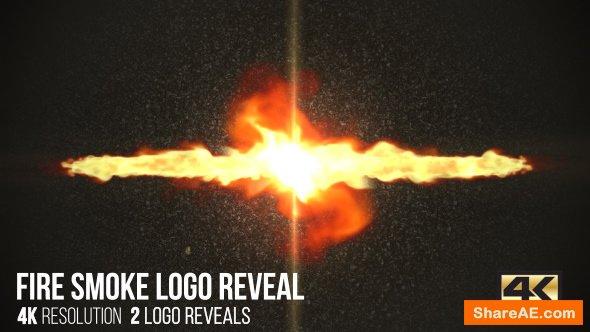 Videohive Fire Smoke Logo Reveal