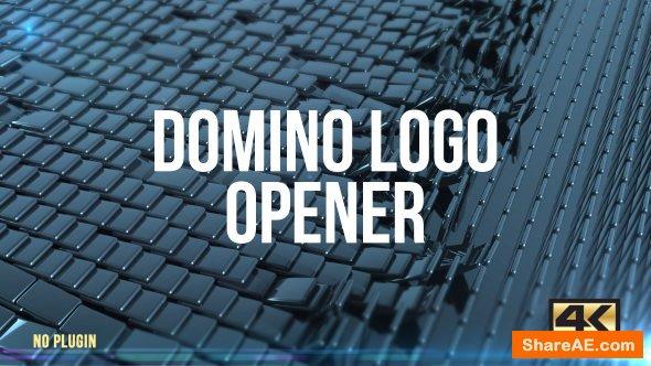 Videohive Domino Logo Opener