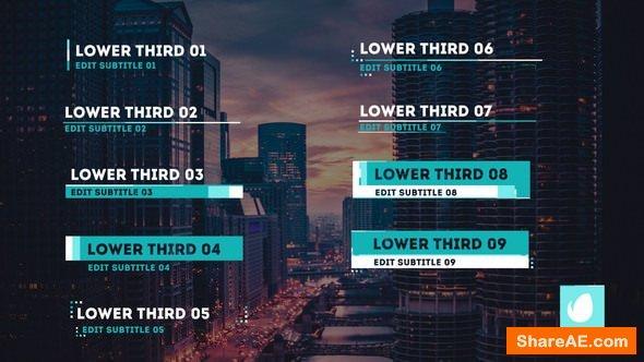 Videohive Tritone Lower Thirds