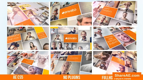Videohive Photo Slideshow 15476864