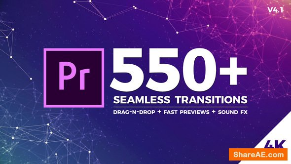 Videohive Seamless Transitions - Premiere Pro