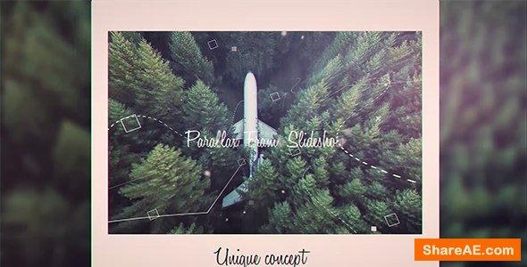 Videohive Parallax Frame Slideshow
