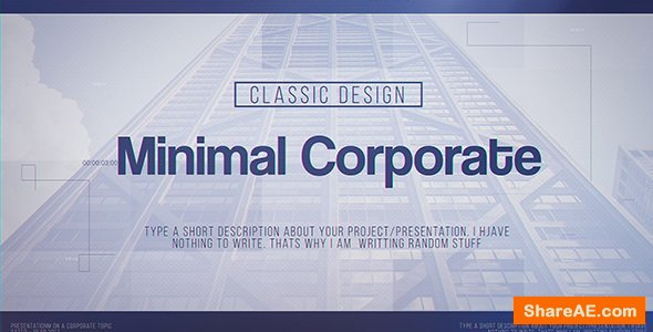 Videohive Minimal Corporate
