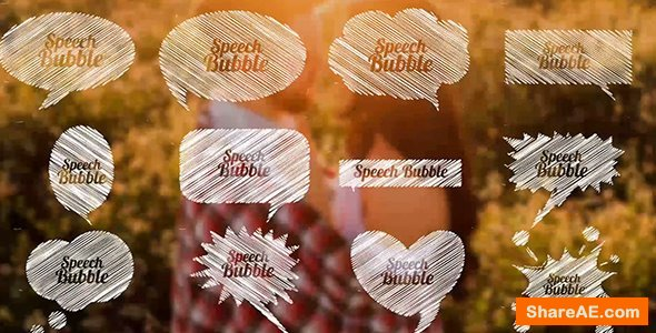 Videohive Speech Bubble Pack