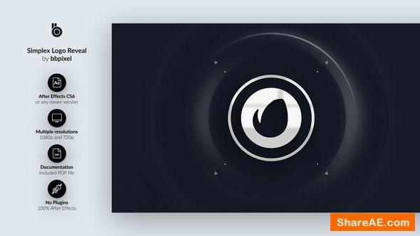 Videohive Simplex Logo Reveal