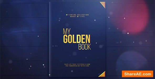Videohive My Golden Book