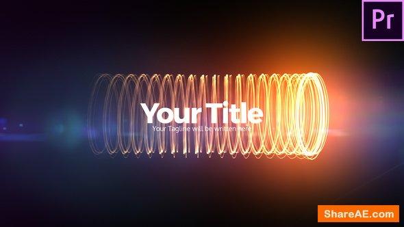 Videohive Charging Streaks Title - Premiere Pro