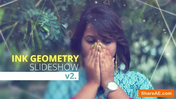 Videohive Ink Geometry Slideshow V2
