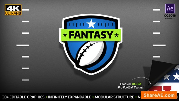 Videohive Fantasy Focus | Fantasy Football Kit