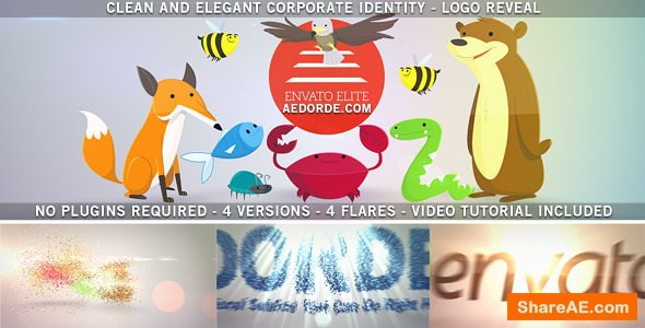 Videohive Clean and Elegant Corporate Identity