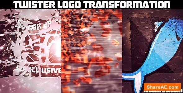 Videohive Twister Logo Transformation