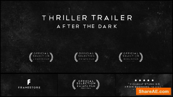 Videohive Drama | Thriller - Movie Trailer