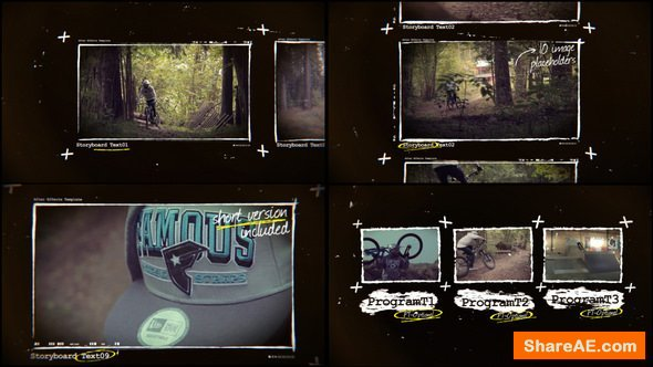Videohive Storyboard Promo