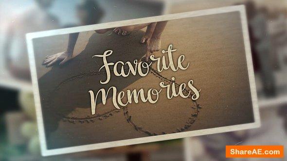 Videohive Favorite Memories - Premiere Pro