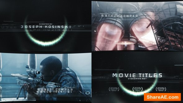 Videohive Movie Titles