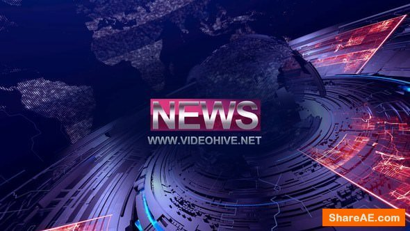 Videohive News Intro 21580309