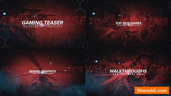 Videohive Gaming Channel Teaser