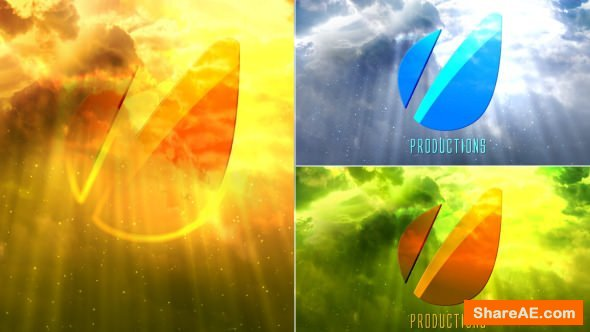 Videohive Cinematic Clouds Logo Reveal
