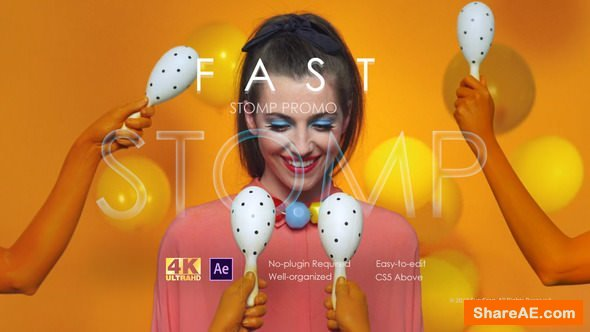 Videohive Fast Stomp Promo 22408307