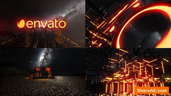 Videohive Lightbuild Element 3D Logo Reveal
