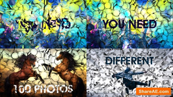 Videohive 3d Projection Slide Show