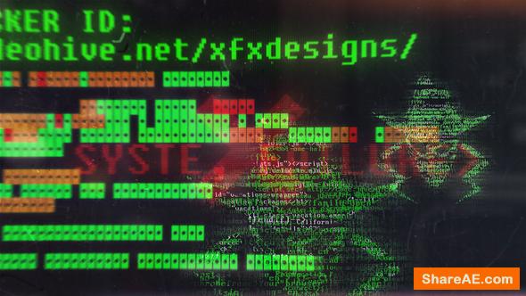 Videohive Hacker Logo