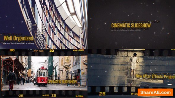 Videohive Cinematic Slideshow 15003147