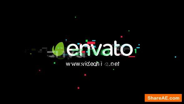 Videohive Glitch Logo 20672000