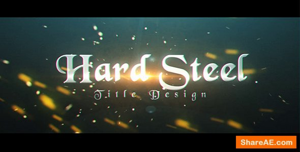 Videohive Hard Steel