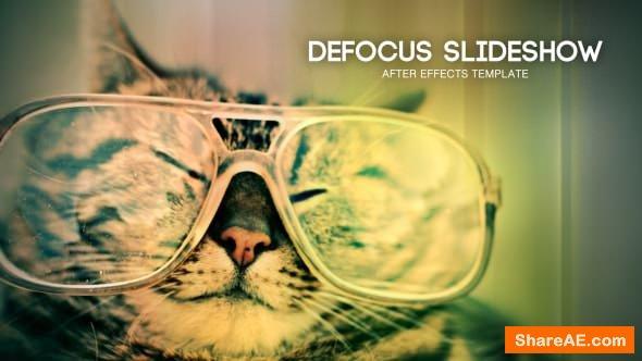 Videohive Defocus Slideshow