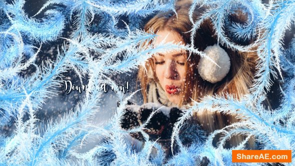 Videohive Winter Slideshow 21005186