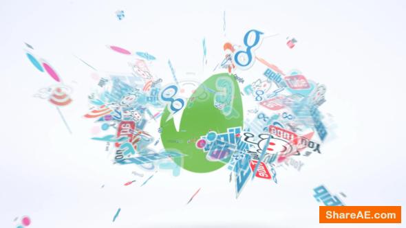Videohive Social Reveal   Logo Intro