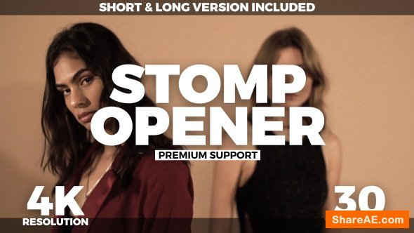Videohive Stomp Opener 21437699