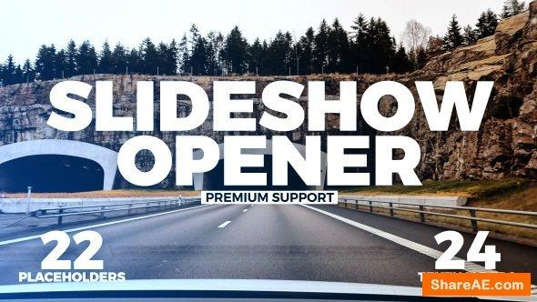 Videohive Slideshow Opener 21268443
