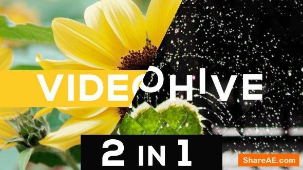 Videohive Dynamic Typo Opener 2 in 1