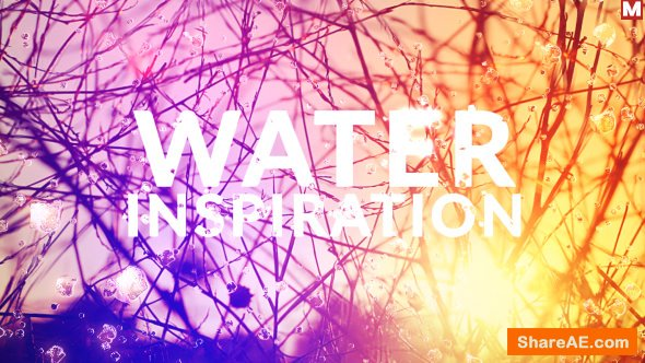Videohive Water Inspiration