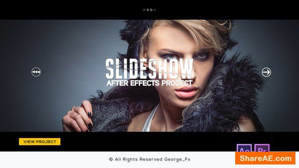 Videohive Glitch Slideshow - After Effects & Premiere Pro Templates
